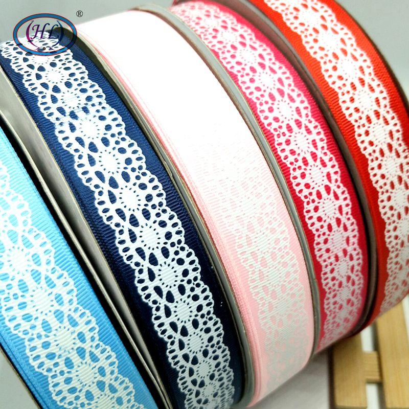 HL 5 ярдов 1 «Разноцветные печатная корсажная лента свадебные Новогоднее украшение продукты пробки для бутылок ремень A078