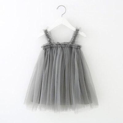 VIDMID Baby Girls vest Dresses Cotton Brand summer Girls lace Dress Kids girls Clothes children's sleeveless clothing 7065 01 4