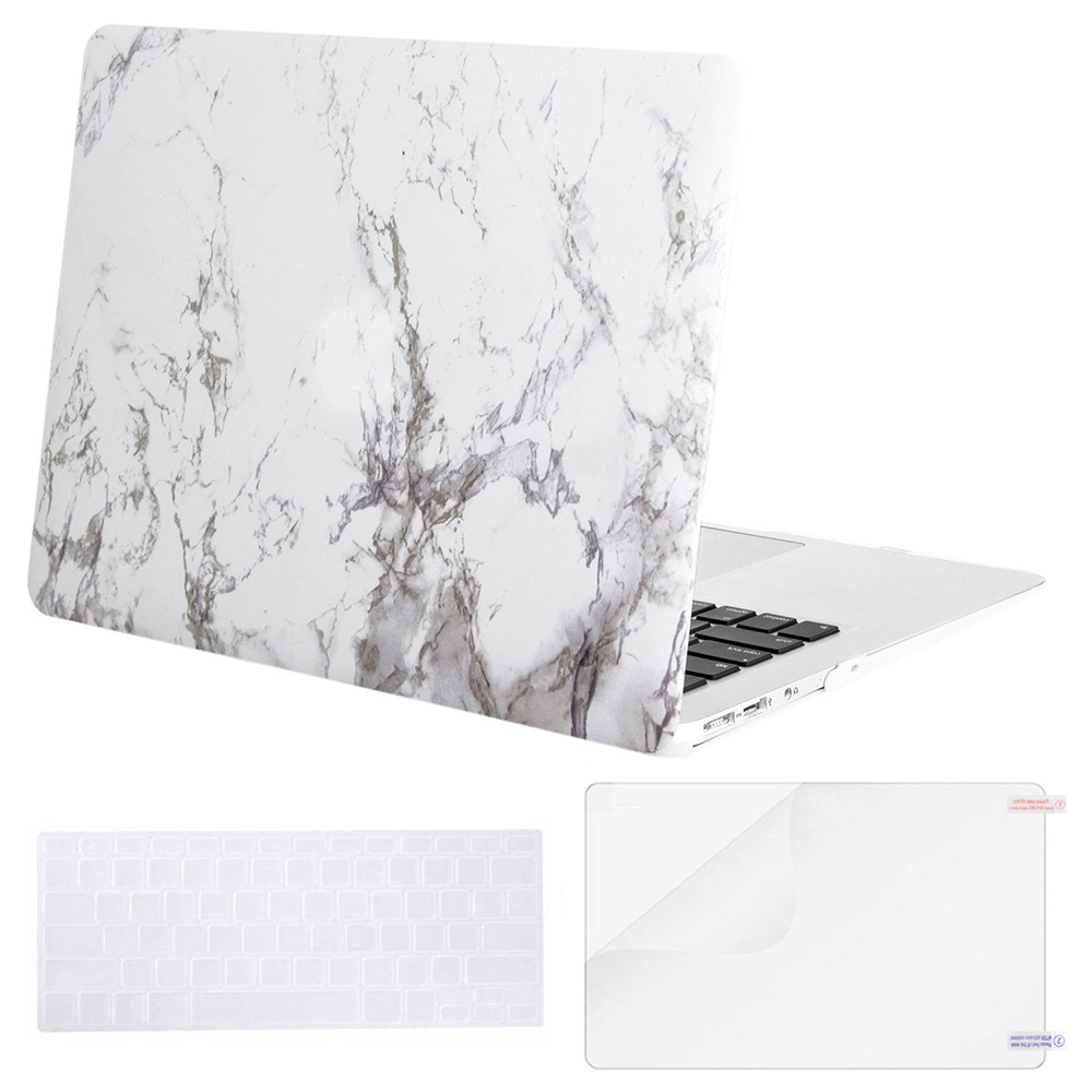 Mosiso Marble Shell Cover Case for Macbook Air 13 inch for Laptop Matte Carry Case Mac Pro Retina Air 2015 2016 2017 A1502 A1425