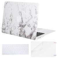 Mosiso Shell Case macbook 13 Mac Pro 13 2013 2014 2015 + Siliconen Toetsenbord Huid + Screen Protector