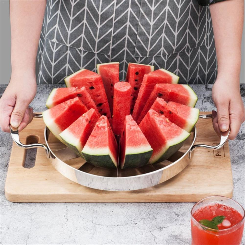 Kitchen Practical Tools Creative Watermelon Slicer Melon Cutter Knife 420 stainless steel Fruit Cutting Slicer