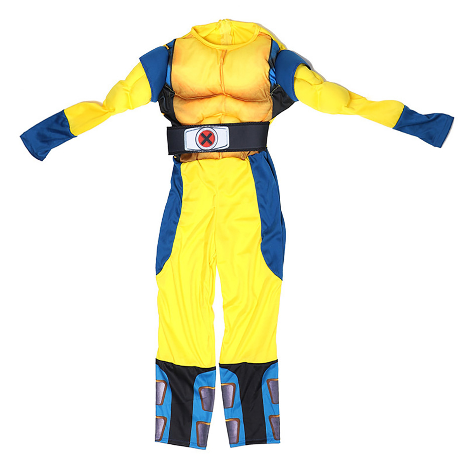 Image 5 - Wolverine Wolf Set Anime X Men Muscle Hero Children Fantasy Comic Movie Carnival Party Purim Halloween-in Boys Costumes from Novelty & Special Use