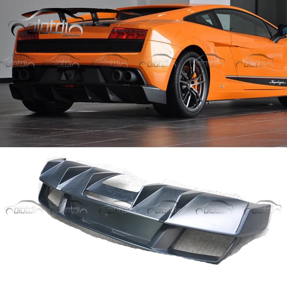 Bumpers Automobiles & Motorcycles Humble Car Styling Black Frp Fiberglass Rear Bumper Protector Diffuser Lip Kits For Lamborghini Gallardo Lp570 Fragrant Aroma