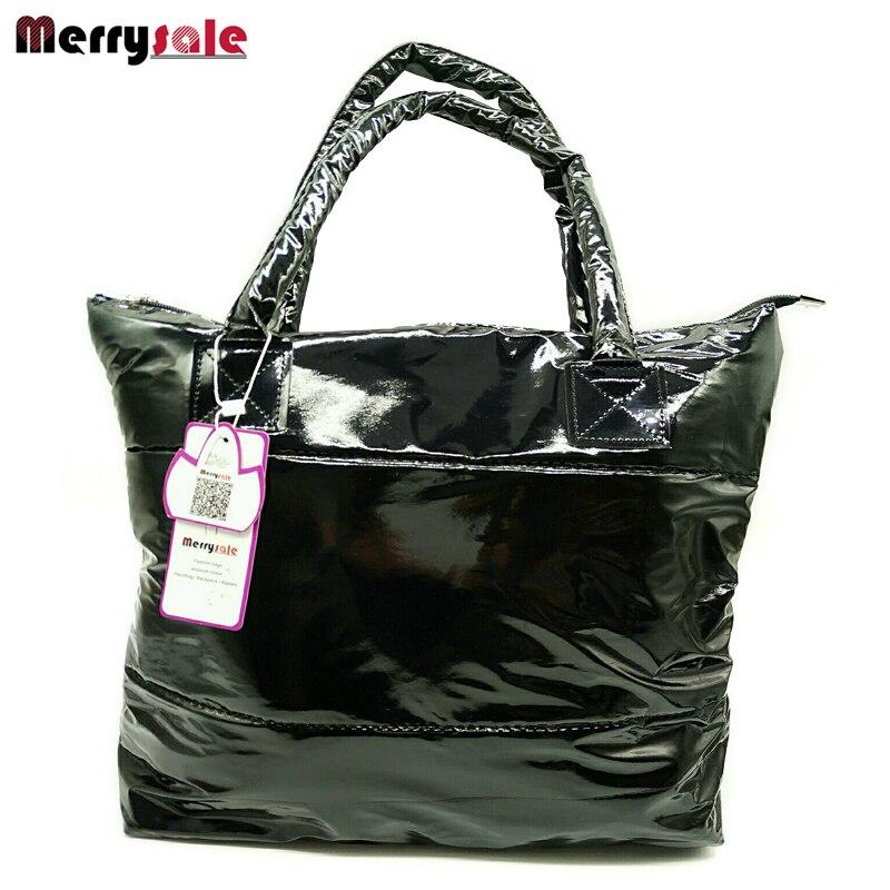 women's 2017 winter handbag  space cotton bag  shoulder bag cotton-padded jacket