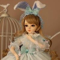 Полный набор SuDoll BJD 1/3 princessgirl Бесплатная глаза парик одежда все включено игрушки куклы Лидер продаж