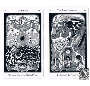 Full English The Hermetic Tarot cards Factory Made High Quality Deck Board Game Cards