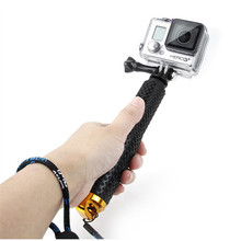 Hot Self Selfie Stick Handheld Waterproof Monopod + Screw for gopro go pro HERO 4 3+ 3 2 xiaomi yi sport camera Accessories