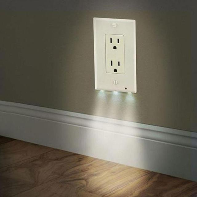 Bathroom Lights With Plugs aliexpress : buy new design wall outlet cover plate plug cover