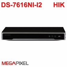 H.265 4K NVR 12mp IP camera Embedded P2P network video recorder DS-7608NI-i2 DS-7616NI-12 cctv video surveillance