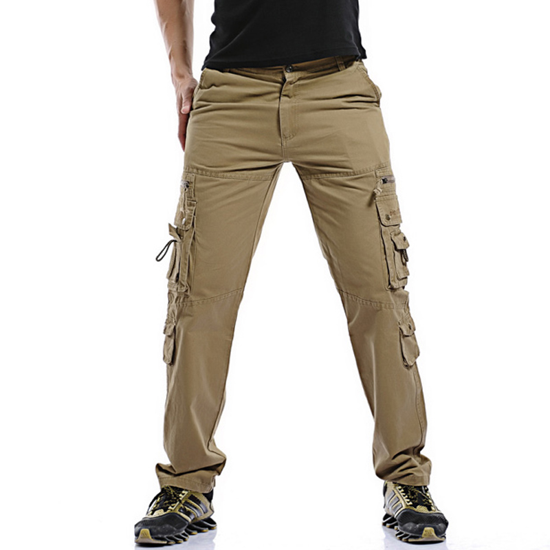 release date super popular dirt cheap US $39.99 |2018 New Men Long Overalls Cargo Pants Trousers Men's Casual  Fashion Slim Fit Large Size Long Pants Trousers Cargo Pants Hombre-in  Casual ...