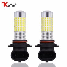 2pcs 1500 Lumens Extremely Bright 144-EX Chipsets 9006 HB4 LED Bulbs with Projector for Fog Lights 6000K White Lighting(China)