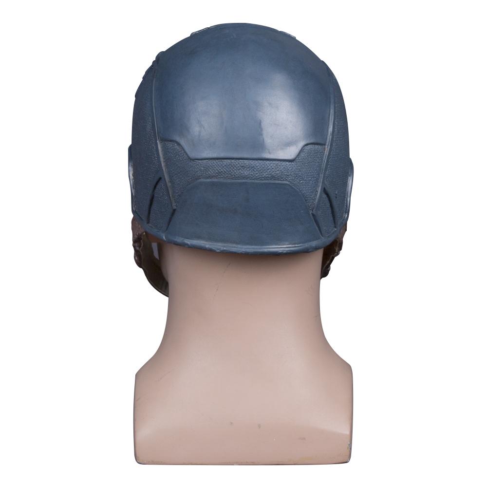 Captain America Civil War Helmet Mask Latex Cosplay Steven Rogers Halloween Helmet For Collection Party (7)