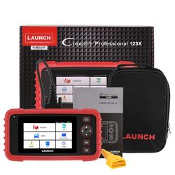 LAUNCH CRP123X OBD2 Scanner Check Engine ABS SRS Transmission Code Reader Android Based Wi-Fi One-Click Car Diagnostic Tool