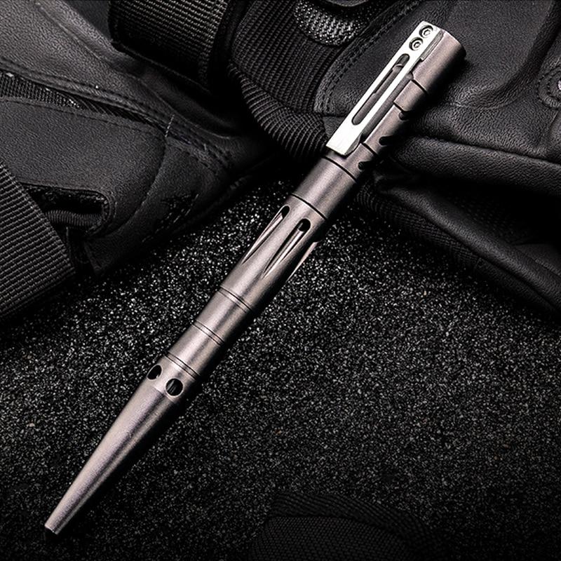 H1051 Outdoor Aluminum alloy+Tungsten Steel Tactical Pen Multifunctional Self Defense Pen Writing Pen edc Gadgets Tactical pen|gadget outdoor|gadget pen|alloy pen - title=