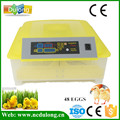 Cheap Price Full Automatic Mini Chicken Egg Incubator 48 Eggs With CE Approved