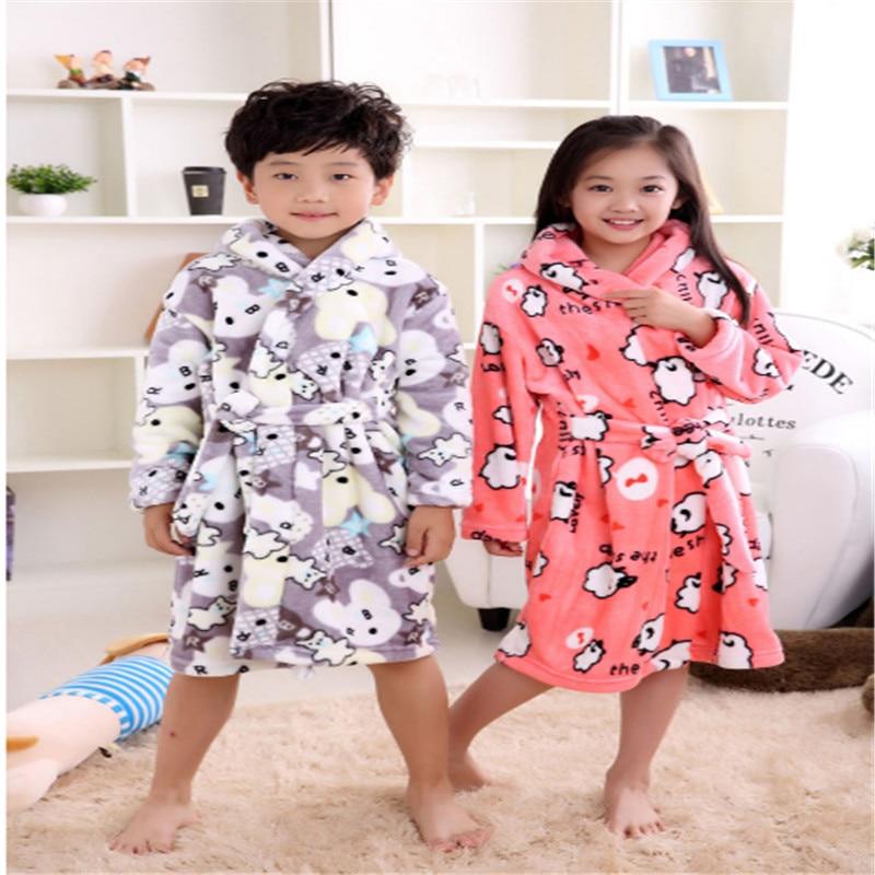 Kids Boy Girl Mickey Mouse Hooded Bathrobe BLUE Age 3-5 Dressing Gown Nightwear