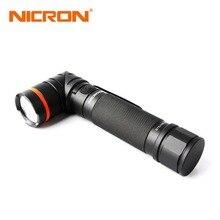NICRON Magnet 90 Grad 5 Watt Ultra Helle Led-taschenlampe Hohe Helligkeit Wasserdicht 3 Modi 300 Lumen Zoomable-led B70