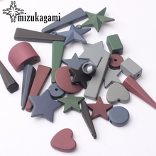 Acrylic Charms Candy Colors Various Geometric Shape Charms For DIY Fashion Drop Earrings Jewelry Making Accessories