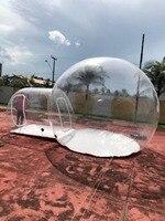 Trasparente Bolla Gonfiabile Tende Da Campeggio, bolla trasparente tende per la vendita, gonfiabile prato bubble camera d'albergo, mostra booth