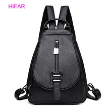 2019 Women Leather Backpacks High Quality Female Backpack Casual Daily Bag Sac a Dos Ladies Bagpack Travel School Back Pack New 2019 classic women leather backpacks for girls sac a dos female backpack college travel bagpack ladies back pack mochilas girl