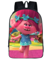16 Inch Trolls Poppy Kids Backpacks Customized Mochila Feminina Orthopedic Children Travel Bag School Bag Teenage Gift