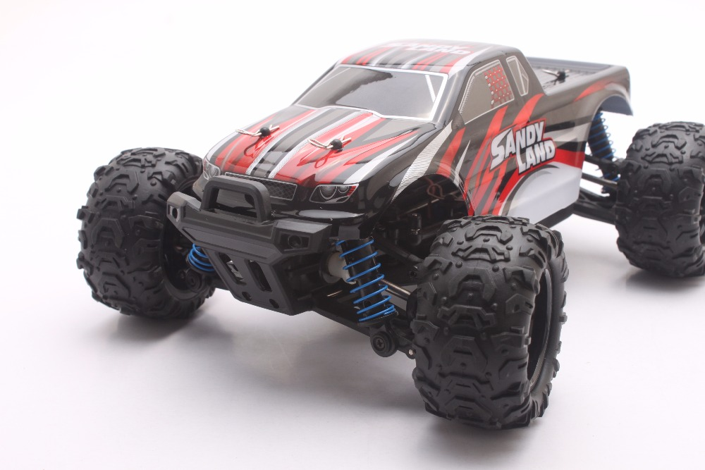 RC Car 2.4GHz Rock Crawler Rally Car 4WD Truck 1:18 Scale Off-road Race Vehicle Buggy Electronic RC Model Toy 9300-red цена
