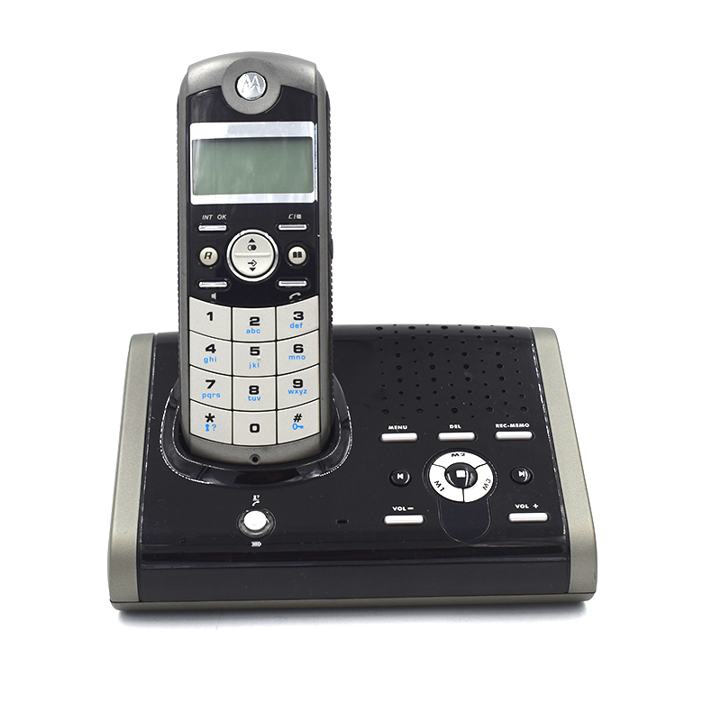 Multi-language Digital Cordless Phone With Answer Machine Handfree Voice Mail Backlit Display Fixed Telephone For Office Home ...