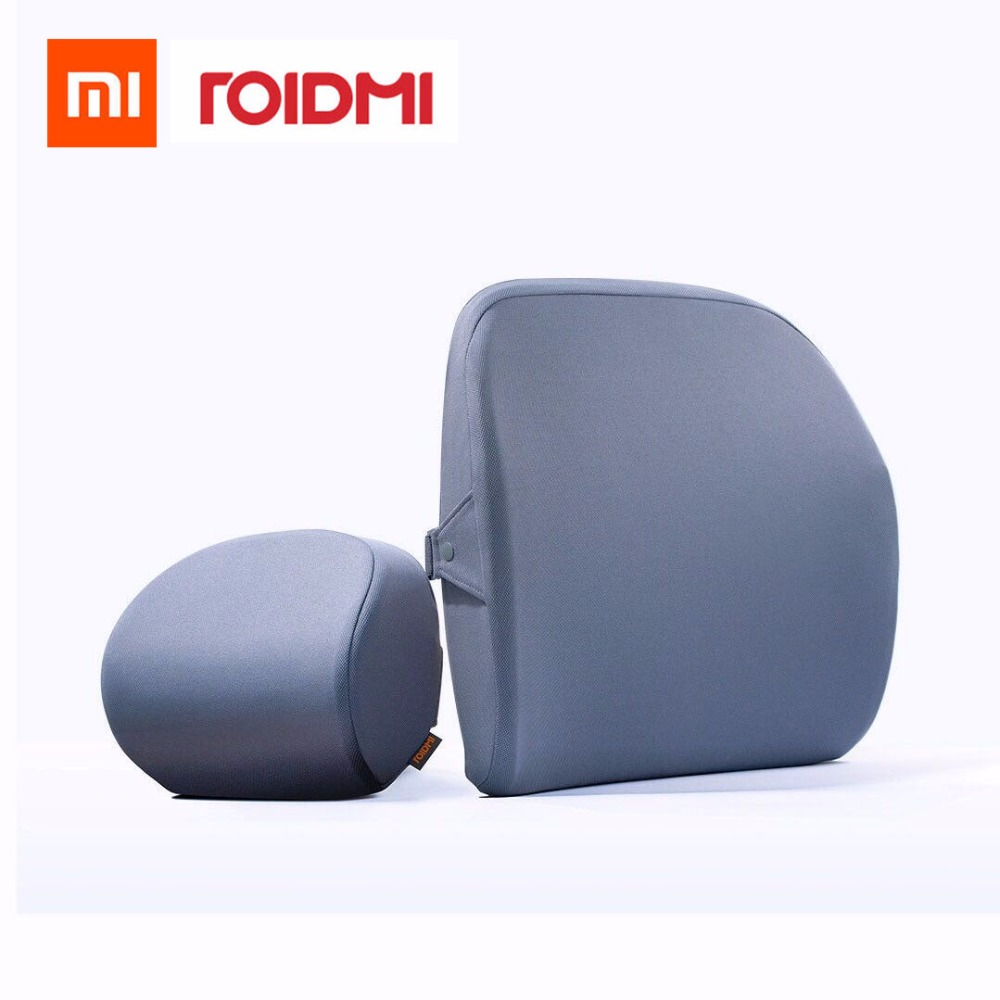 Original xiaomi mijia roidmi R1 car headrest Pillow cussion 60D Sense of memory cotton For xiaomi smart home kit Office & Car 1