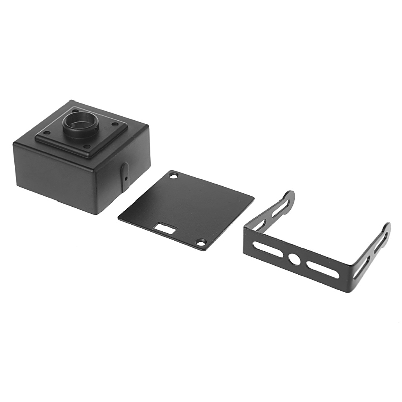 Free Shipping CCTV Metal Mini Box Camera Housing Case For Sony Ccd 38x38 AHD 1080P IP Cam PCB