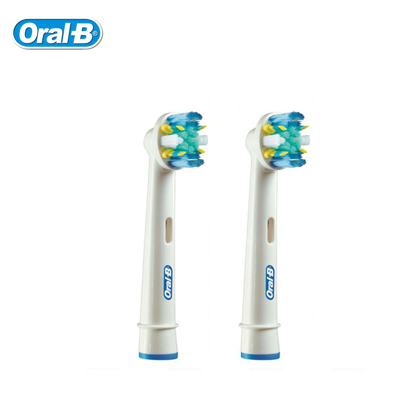Oral B EB25 Floss Action Replaceable Heads for Electirc Toothbrush Deep Clean Teeth brush Head цена