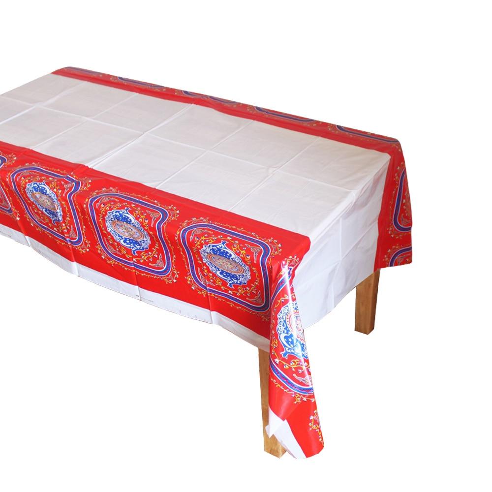Wonderful Table Eid Al-Fitr Decorations - Disposable-Plastic-Table-Cloth-Eid-al-Fitr-Ramadan-Table-Covers-Tablecloth-Waterproof-For-Moslem-IslamismDecoration-180  Best Photo Reference_83840 .jpg