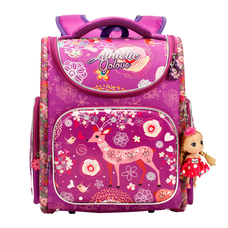 Cute Fashion School Bag Children Backpacks for Boys Girls Kids' school backpack Colorful printing Baby Travel Bag lovely Satchel