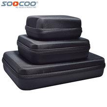 Sport Action Caméra Accessoires De Protection Sac De Rangement pour SOOCOO C30R C30 C10S S33W S55W SJCAM Série/Gopro Série/Yi Cam