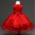 2016 Niños Vestidos de Boda De Las Niñas Chaleco de Encaje Fiesta de Cumpleaños de Princesa Traje de la Navidad de Los Niños Del Niño Elegante Vestido Infanty