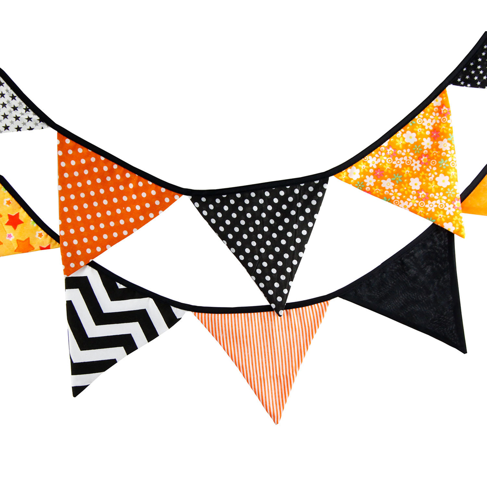 Event & Party Handmade Paper Lace Cotton Party Wedding Pennant Bunting Banner Decor Fashion Flag Baby Show Home Diy Decoration 12 Flag 3.2m