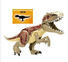 L030 Set Jurassic World Bricks 2 Park Dinosaurs Indominus Rex Tyrannosaurs T-Rex Learnings Children Gift Toys L032