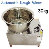 Commercial 30kg Automatic Dough Mixer 220V/110V Stainless Steel Mixer Stirring Mixer Pasta Machine Dough Kneading HMP 30