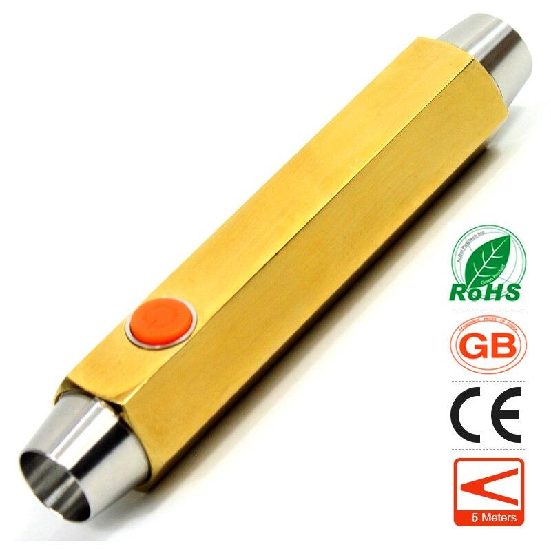 Mini LED Flashlight Purple & White Light Fluorescent Agent Detection Jewelry Jade Gem Testing Jade Identification Pocket Torch