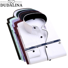 Dudalina Camisa Male Shirts Long Sleeve Men Shirt Brand Clot