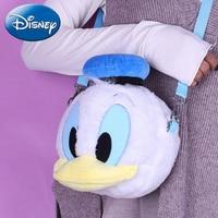Disney Donald Duck Kids Plush Backpacks Cute Stuffed Cartoon 2019 New Children Backpack Toys Girl Boys Mini School Plush Bag Toy