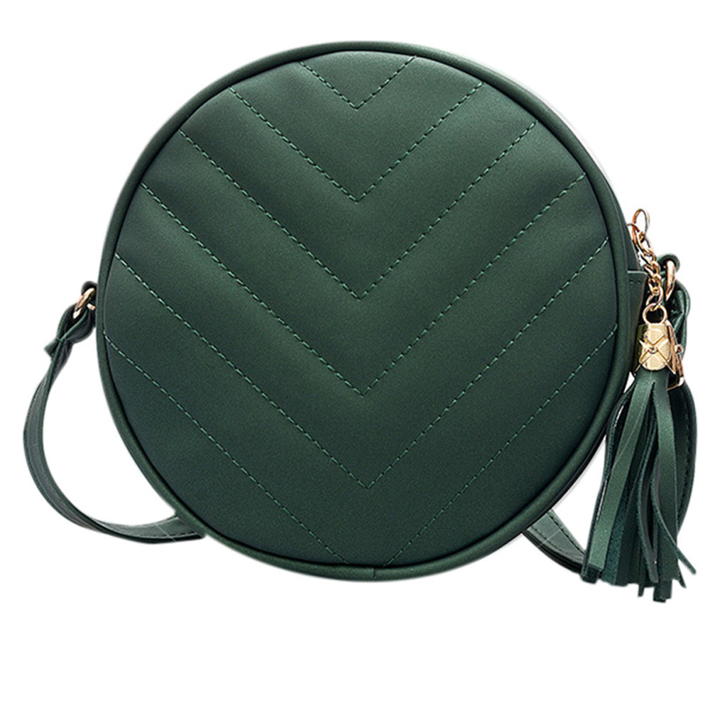 Shoulder-Bag Tassel Braided Versatile Round Female Mini Woman Lady Adjustable Hot-Sale