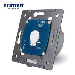 Livolo la Base del interruptor de luz de pared de pantalla táctil envío gratis, estándar de la UE, CA 220 ~ 250 V, VL-C701