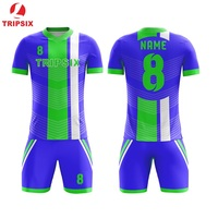 2019 Newest Design Top Quality Football Jersey Kids Size Item Royal Blue Free Shipping Full Sublimation Team Jersey