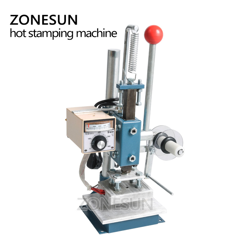 Hot Foil Stamping Machine Emboss Invitation Business Card Bronzing ...