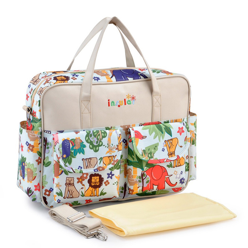 insular High Quality Diaper Bag For Mother Nappy Bag Durable Baby Bags For Stroller Baby Changing Bag Bolso Maternidad Tote