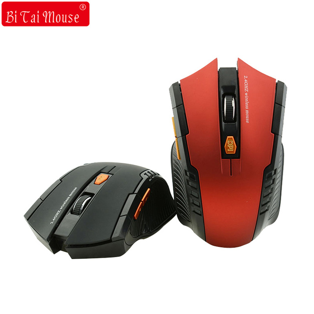 Bts 2.4G Wireless mouse Optical  6 Buttons mouse gamer USB Receiver 1600DPI 10M wireless Mouse  gaming mouse For Laptop computer 1