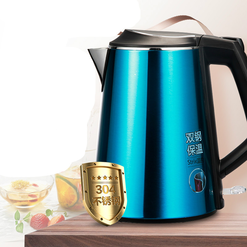 лучшая цена Electric kettle boiling pot food grade 304 stainless steel 1.5 L Fashion product Safety Auto-Off Function
