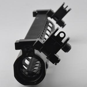 Image 4 - US 45 Degree Off Front Rear Set Flip Up Back Up Side Iron Sight Fit 20mm Rail