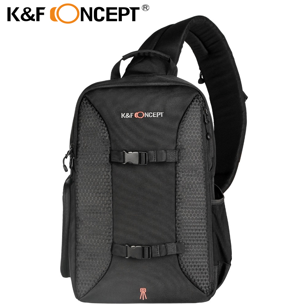029c4de57a4 K F CONCEPT Multifunctional DSLR Camera Backpack Casual Style Sling  Messenger Travel Bag Hold for Tripod iPad + Rain Cover-in Camera Video Bags  from ...