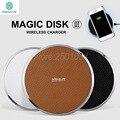 Nillkin magia disco iii cargador inalámbrico estándar qi para samsung s6 borde s6 s6 edge plus nota 7 de carga inalámbrica dispositivo digital